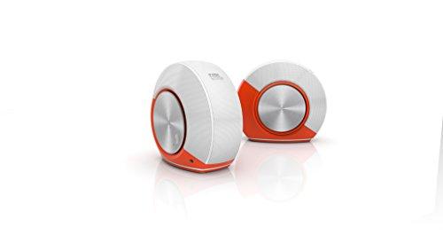 JBL Pebbles Plug and Play Stereo Computer Speakers Orange