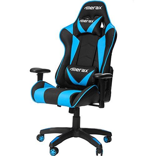 Merax Gaming Chair High Back Computer Chair Ergonomic Design Racing Chair