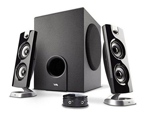 Cyber Acoustics 2.1 Computer Speaker with Subwoofer - CA-3602