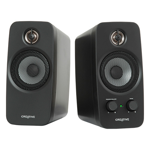 Creative Inspire T10 2.0 Multimedia Speaker Sound System with BasXPort Technology