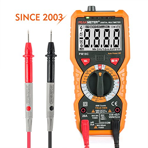 Janisa PM18C Multi-Tester with Backlight LCD