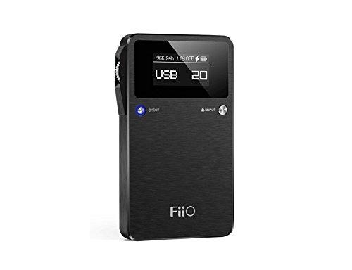 Fiio E17K ALPEN 2 USB DAC Headphone Amp.: