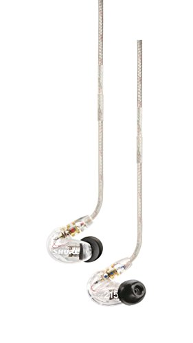 Sound Isolating Earphones From Shure - The Shure SE215-CL comes with Single Dynamic MicroDriver
