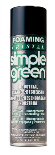 Simple Green 19010 Foaming Crystal Industrial Cleaner/Degreaser