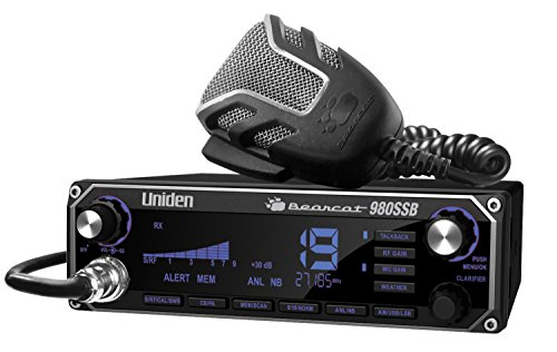 Uniden BEARCAT CB Radio With A Sideband As Well As A Weather Band (980SSB)