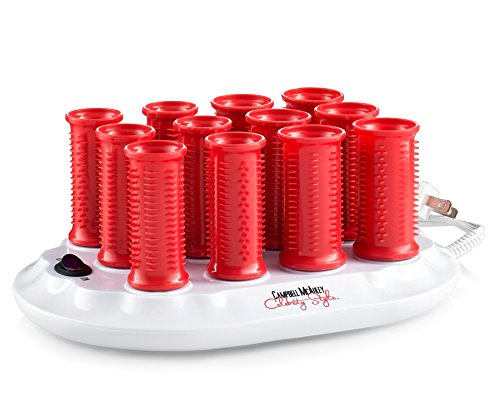 Hot Rollers From Ionic by Campbell Mcauley - Ideal For Use with Both Short and Long Hair. Set of 12 rollers of both 1 Inch and 1.2 Inch Rollers