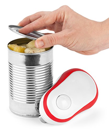 Bartelli Soft Edge Automatic Electric Can Opener with Assistive Auto-Stop
