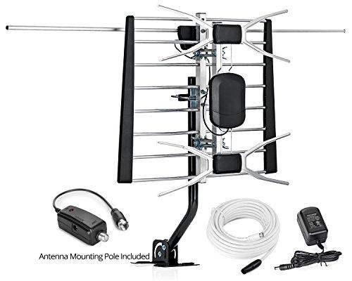 Sobetter HDTV Antenna Amplified Outdoor 150 Mile Range Digital TV Antenna