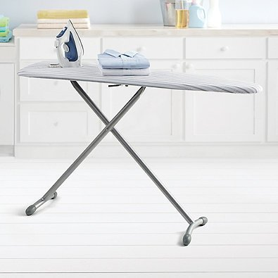 Steel Ironing Board with Bonus Folding Board from Real Simple Ironing Boards.