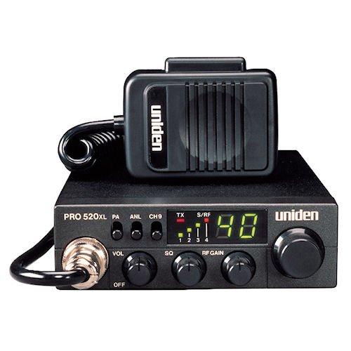 The Uniden PRO520XL 40 Channel CB Radio