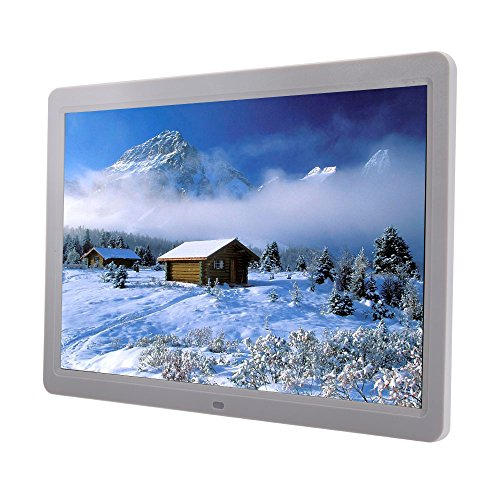 MicroMall High Resolution LED Digital Photo Frame