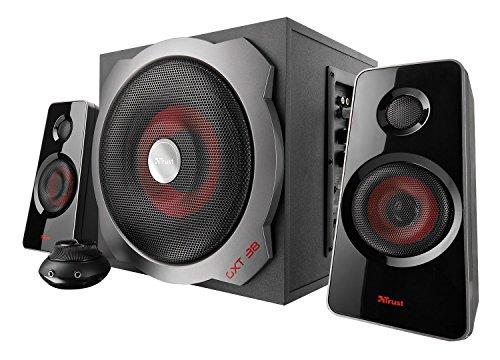 Trust Gaming GXT 38 120 Watts 2.1 Gaming Speakers