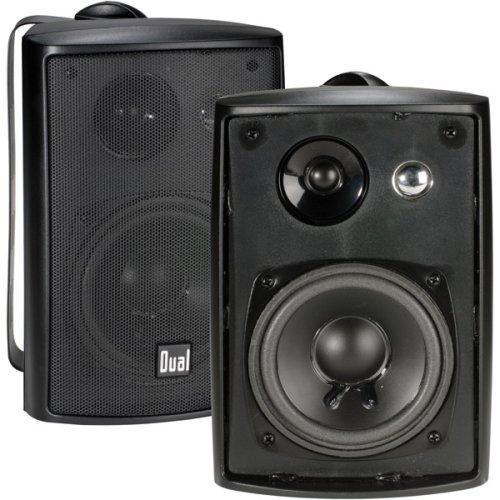 Dual Electronics LU43PB Outdoor Speakers.