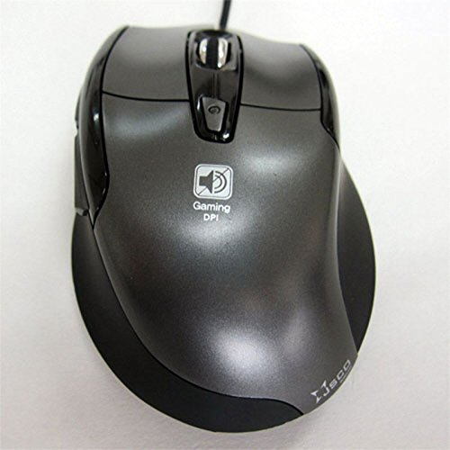 Noiseless USB Optical Gaming Mouse - Quiet and Wired