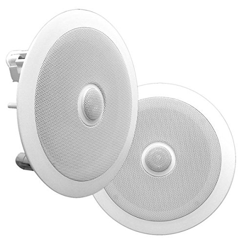 Pyle PDIC60 6.5-Inch Dual In-Wall/In-Ceiling Speakers