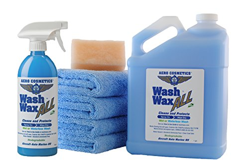 Waterless Car Wash Wax Kit