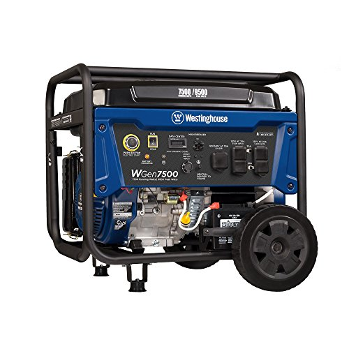 Westinghouse WGen7500 Portable Generator with Electric Start