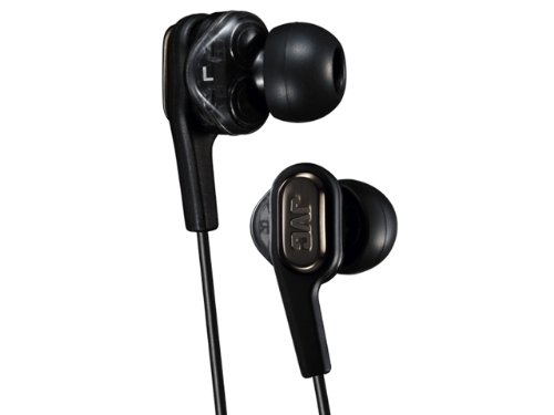 JVC HA-FXT90 Marshmallow Inner-Ear Earbuds with Microphone & Remote (Black)