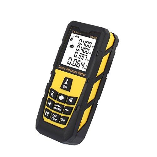 DMiotech Laser Distance Measure 131ft 40m Mini Handheld Digital Laser Distance Meter