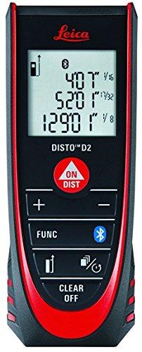 Leica Geosystems Disto D2 Laser Distance Tape Measure