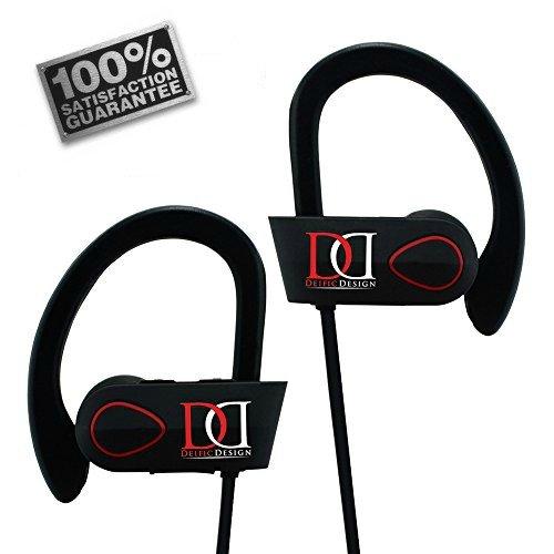 Deific Design IXP7 Waterproof Noise Cancelling Bluetooth Headphones - Black