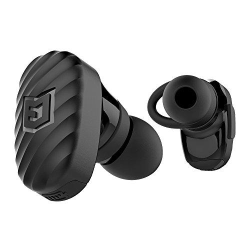 ELWN Flight True Wireless Bluetooth Earbuds w/ Built-in Mic | HD Sound | Sweat & Water Resistant | Custom Fit Options