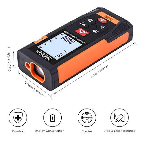 Tacklife HD60 Classic Laser Tape Measure