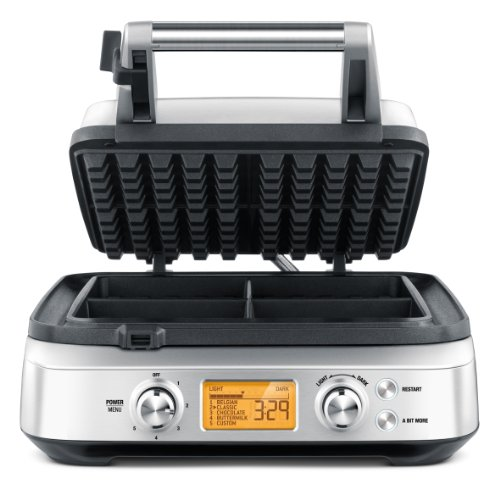 Exceptional 4-Slice Waffle Maker from Breville