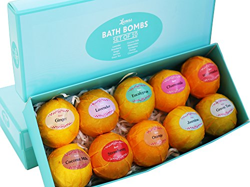 SBR Nutrition Bath Bombs Gift Pack- 10 pack