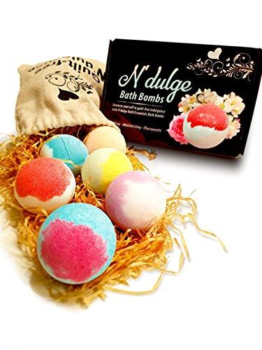 N'dulge Bath Essentials Bath Bombs Gift Set- 6 pack