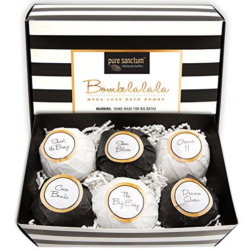 Pure Sanctum Bombe la la la Bath Bombs Gift Set- 6 pack