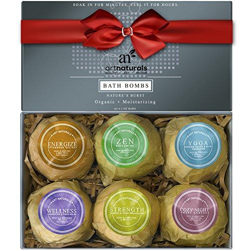 ArtNaturals Bath Bombs Gift Set- 6 pack