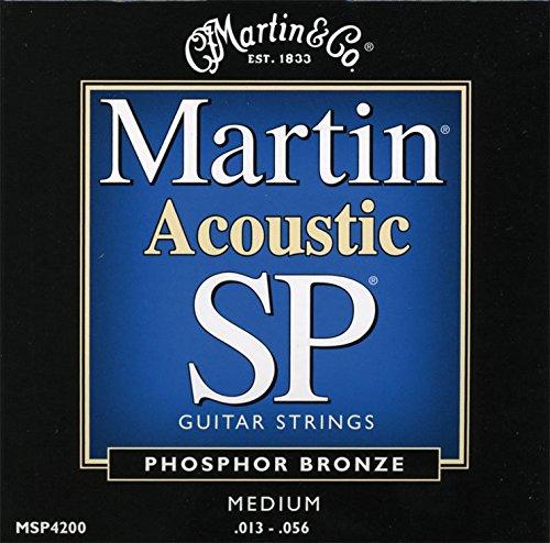 Martin Acoustic SP MSP4200 Phosphor Bronze Acoustic Guitar Strings