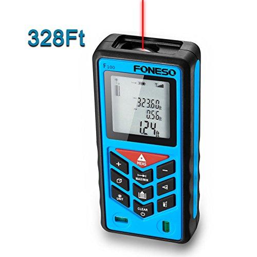 Foneso F100 328ft Distance Laser Measure