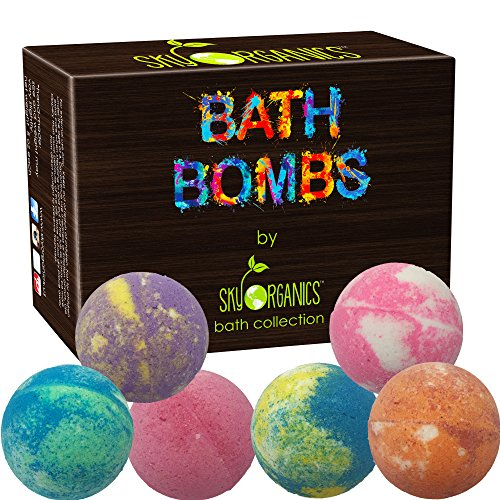 Sky Organics Bath Bombs Gift Set- 6 pack