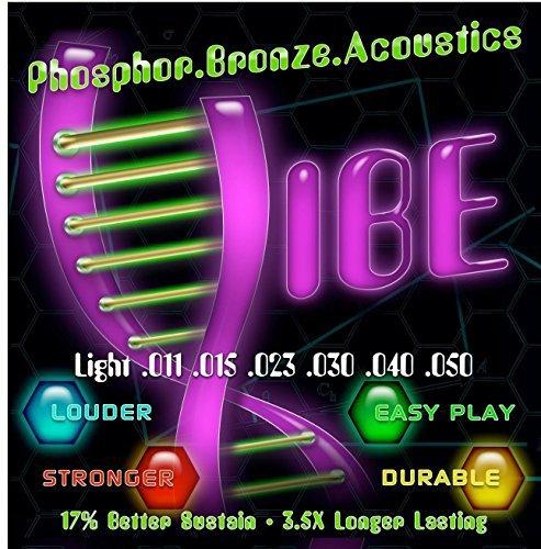 Vibe Phosphor Bronze Acoustic Guitar Strings