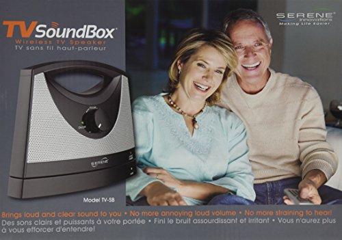 Serene Innovations Wireless TV Speaker LHSTV-SB(4)