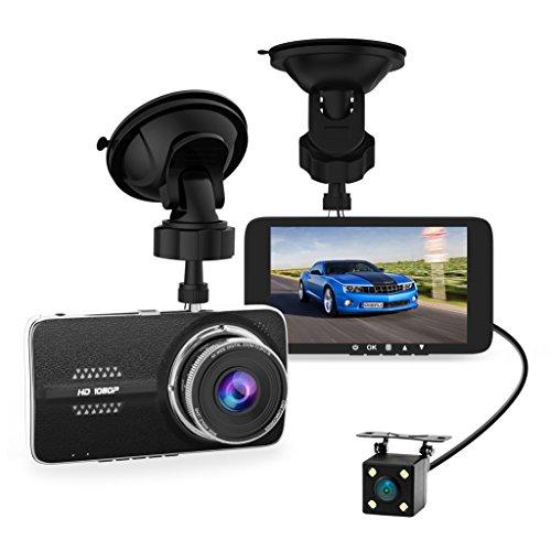 Frizione Car Dash Cam, Full HD 1080P Dash Camera