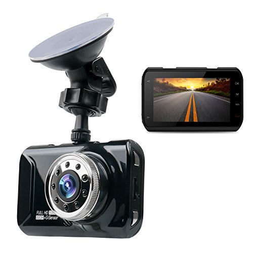 """MorWell Dash Cameras with 3.0"""" Screen Full HD 1080P"""