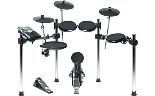 Eight-Piece Electronic Drum Set from Alesis Forge | Comes with Forge Drum Module - USB Port to Record Or Upload Samples