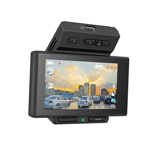 LUMINA 1080p 170 Degree Wide Angle Dash Cam Recorder