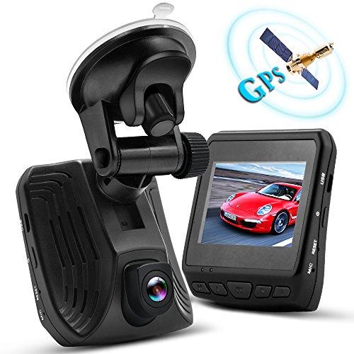 WHLZD 2K Super HD Car Dash Cam with GPS
