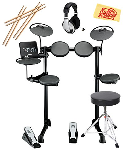 Exceptional Value Drum Set From Yamaha - The Yamaha DTX400K Electronic Drum Set Is Ideal For Beginners
