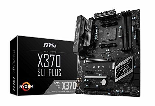 MSI ATX X370 Sli Plus Motherboard