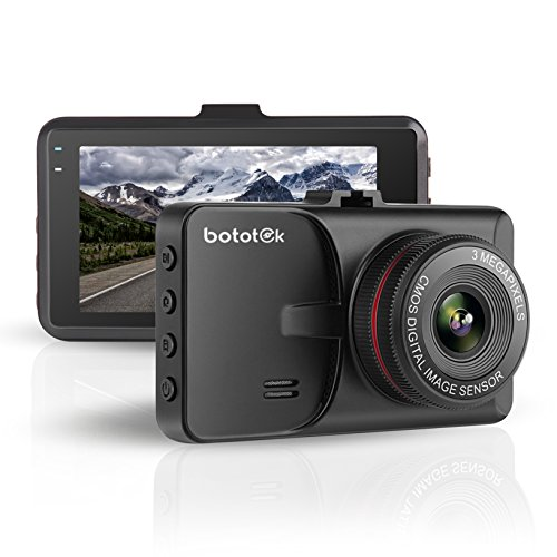 Bototek T619 3 inch Full HD 1080P Dashboard Camera