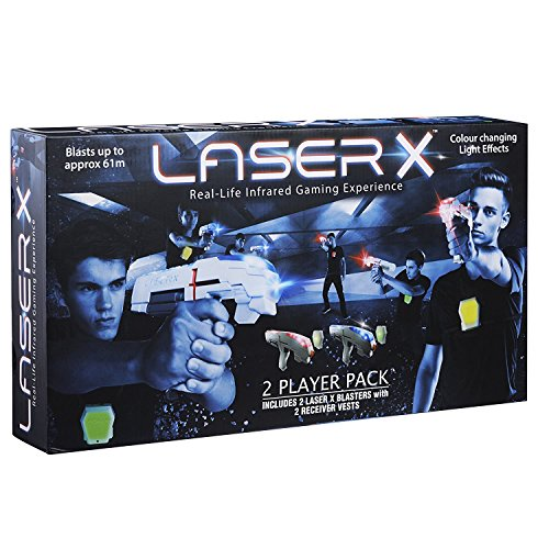 Laser X Laser Gaming System - Laser tag set with vests