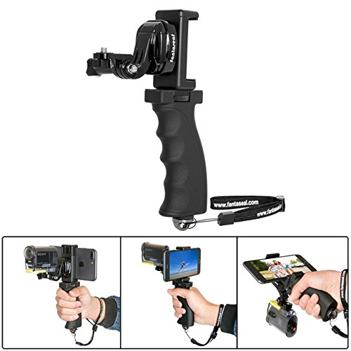 Fantaseal Action Camera Hand Grip Mount