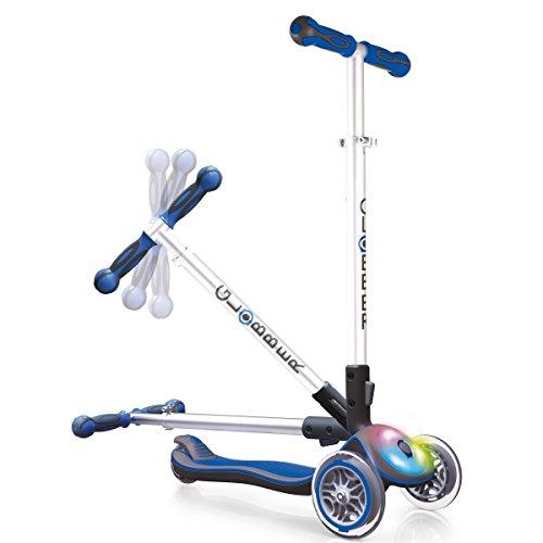 Globber Elite Three Wheel Folding Adjustable Height Scooter