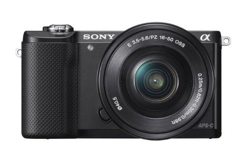 Sony Alpha a5000Mirrorless Digital Camera with 16-50mm OSS lens