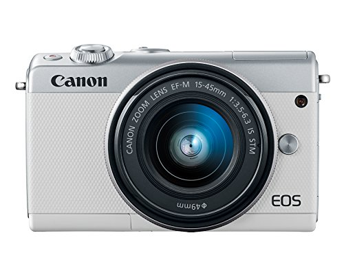 Canon EOS M100 Mirrorless Camera w/ 15-45mm Lens - Wi-Fi, Bluetooth, and NFC enabled